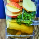 apple and kale green smoothies